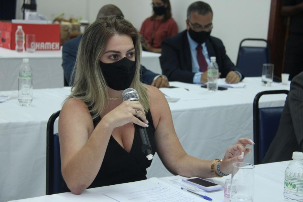 Mariana Charret Villaça, presidente em exercício da Subseção de Casimiro de Abreu / Foto: Bruno Marins