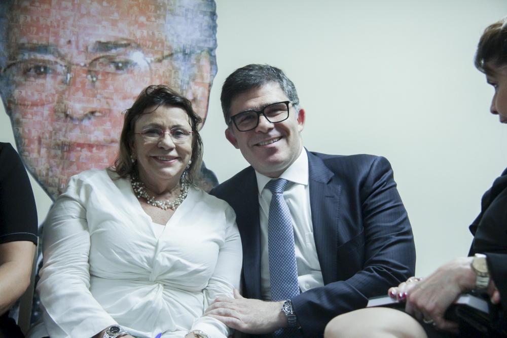 Ana Amelia e Luciano Bandeira / Foto: Bruno Marins