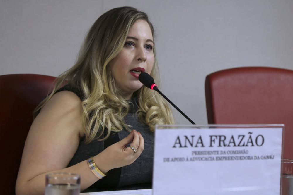 Ana Frazão / Foto: Luciana Botelho