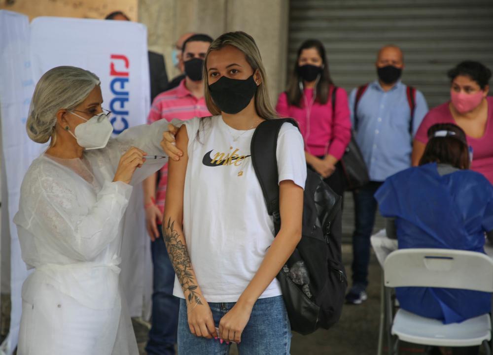 Campanha de vacinação da Caarj / Foto: Flávia Freitas