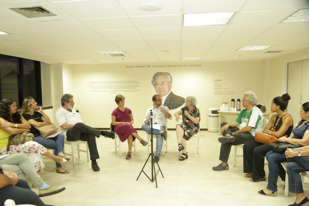 Evento foi promovido pela Comissão de Direitos Sociais e Interlocução Popular da OABRJ /Foto: Lula Aparício