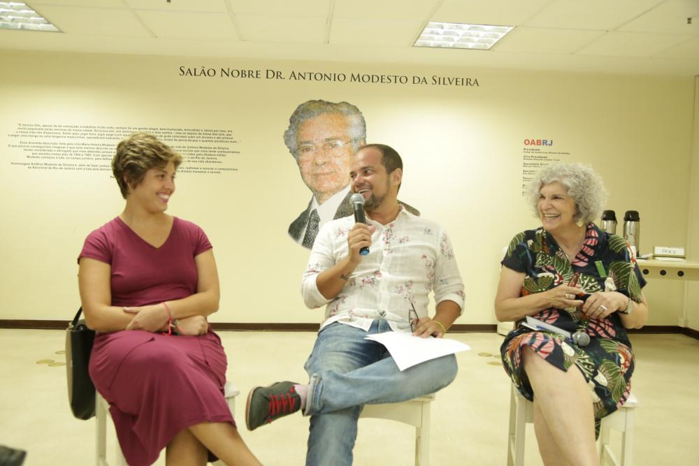 Marcelo Moutinho foi o mediador do encontro / Foto: Lula Aparício