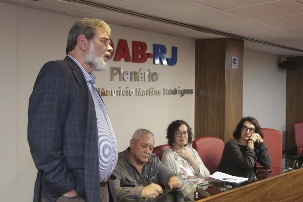 Marcelo Chalréo, Cid Benjamin, Marta Barçante e Flávia Castro / Foto: Lula Aparício