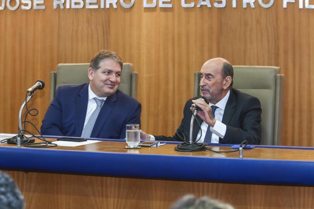 Sérgio Coelho e Gilson Dipp / Foto: Lula Aparício