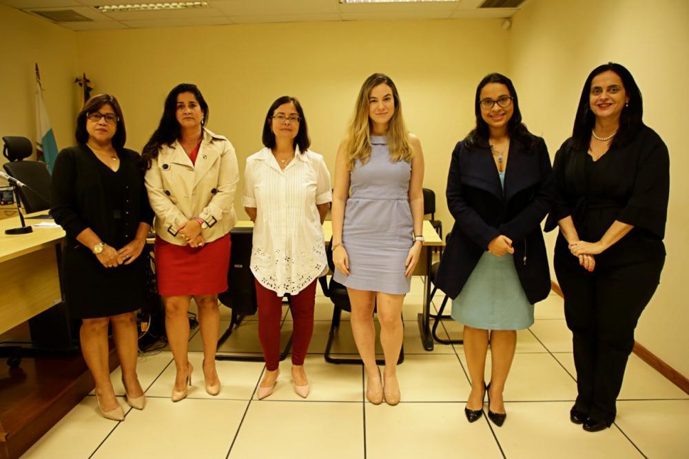 Blitz da Diretoria de Mulheres conseguiu reunir-se com a magistrada / Foto: Arquivo