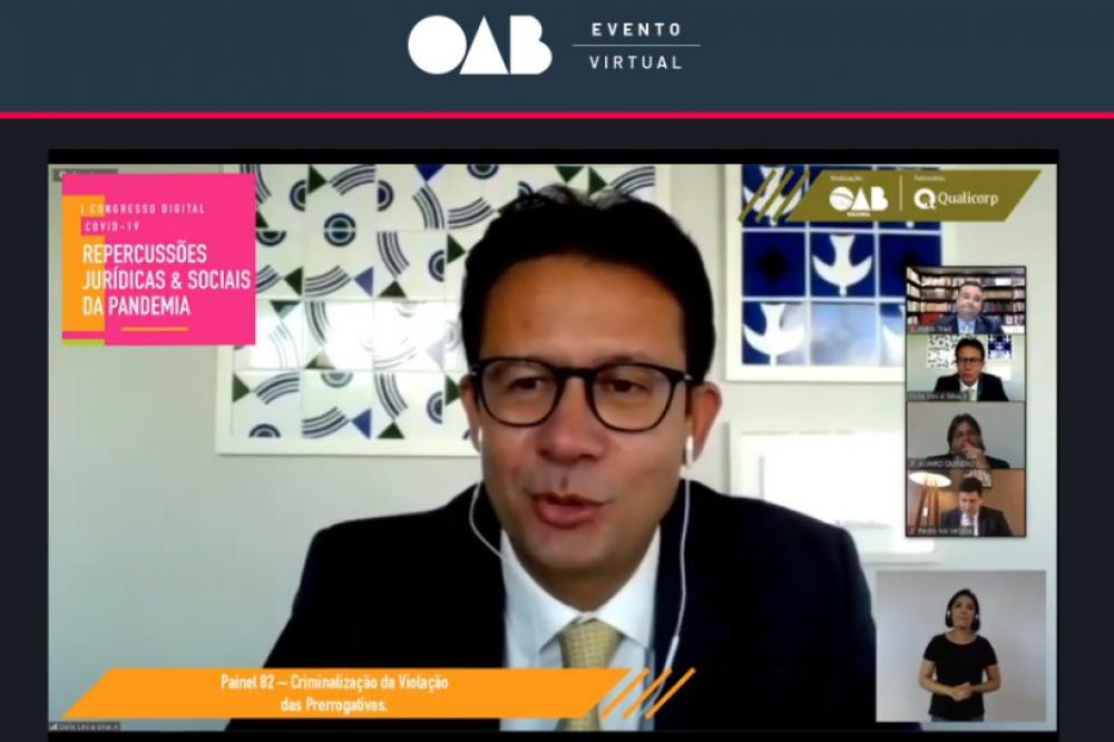 Délio Lins e Silva, presidente da OABDF