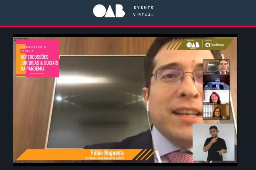 Fábio Nogueira, secretário-geral da OABRJ