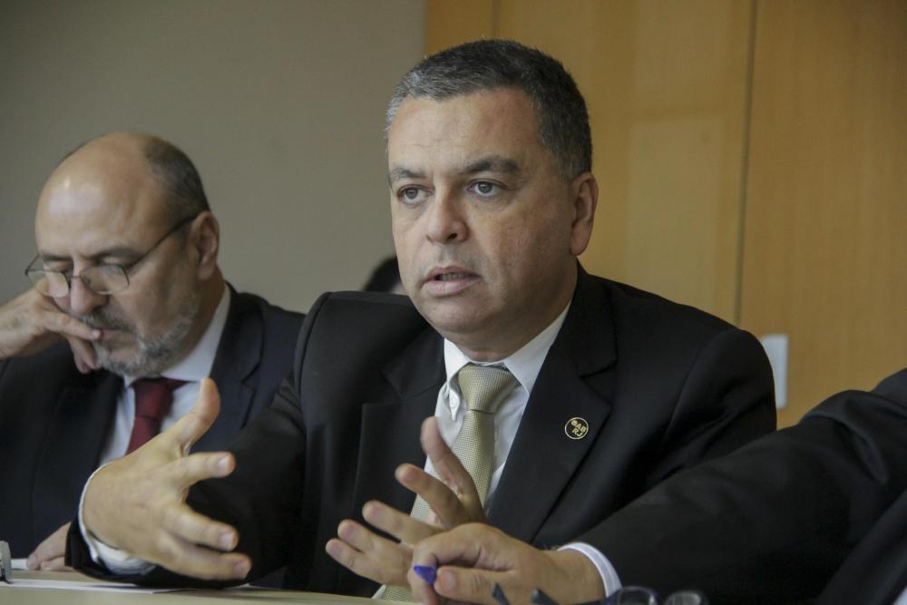 Carlos André Pedrazzi e Marcus Vinícius Cordeiro / Foto: Bruno Marins