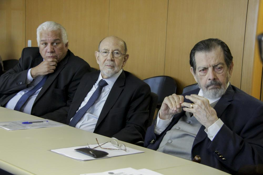 Ricardo Lira, Sérgio Fisher e Henrique Maués / Foto: Bruno Marins