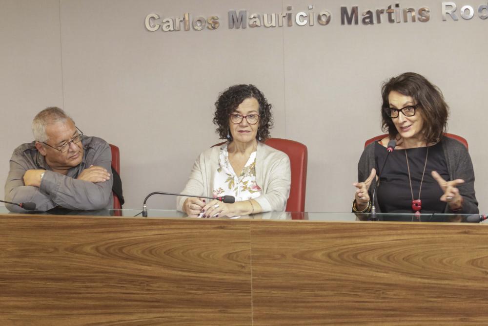Debate reuniu a diretora do filme com militantes da época da ditadura civil-militar / Foto: Lula Aparício