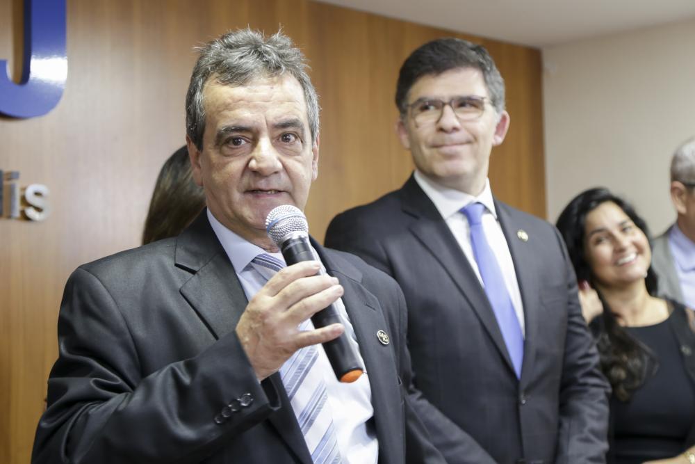 Celso Gonçalves e Luciano Bandeira / Foto: Bruno Marins