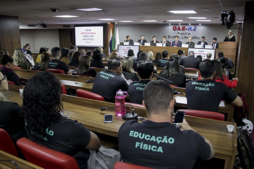 Debate lotou o Plenário Evandro Lins e Silva / Foto: Bruno Marins