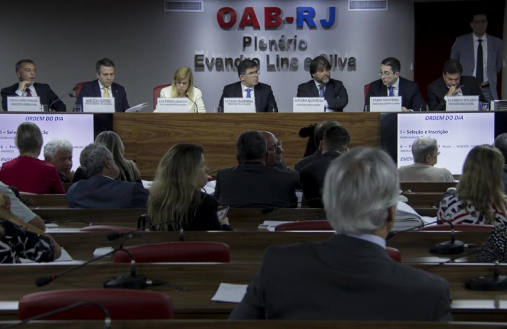 Lançamento aconteceu durante a primeira sessão do Conselho Pleno no ano / Foto: Bruno Marins