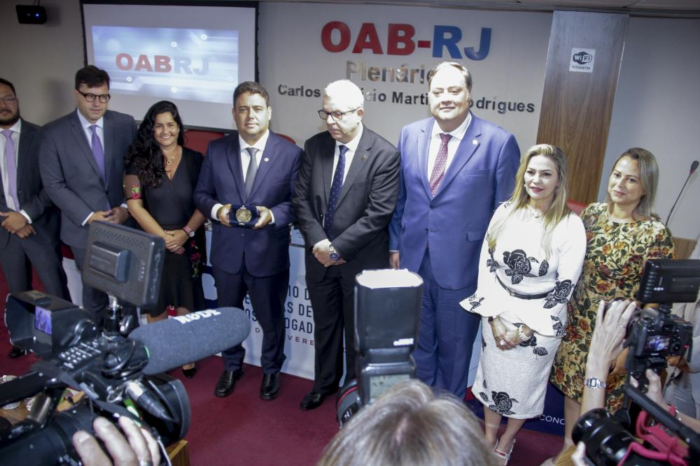Medalha leva o nome de Francisco Costa Netto, ex-presidente da Caarj e da OABRJ e grande advogado trabalhista / Foto: Bruno Marins