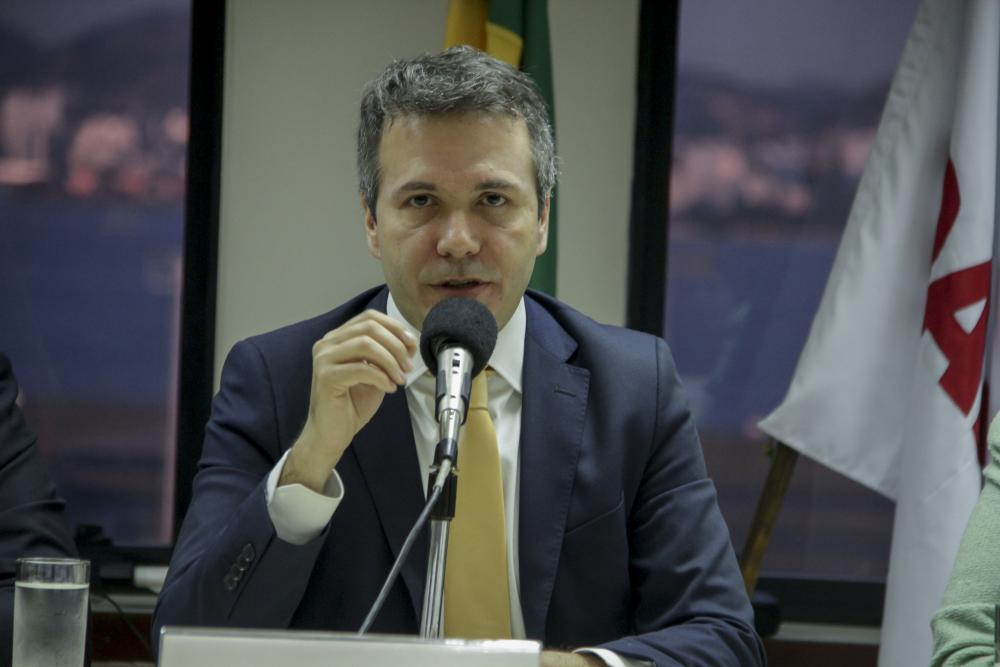 Marcello Oliveira no lançamento da Escola de Prerrogativas / Foto: Bruno Marins