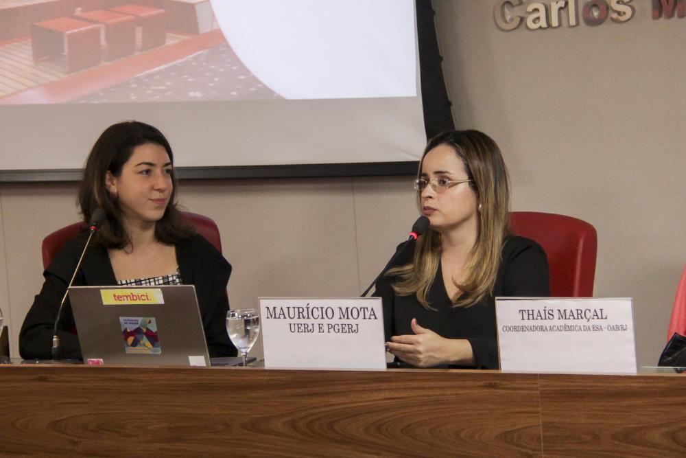 Juliana Minorello e Thaís Marçal / Foto: Bruno Marins