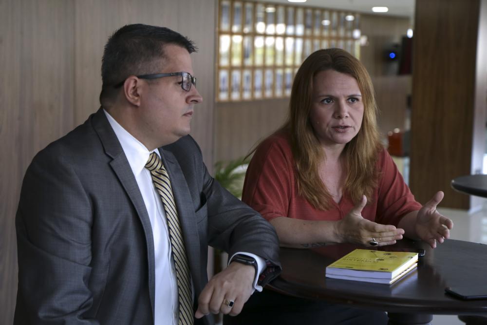 Walter Lima Sales de Santana e Raquel Castro / Foto: Luciana Botelho