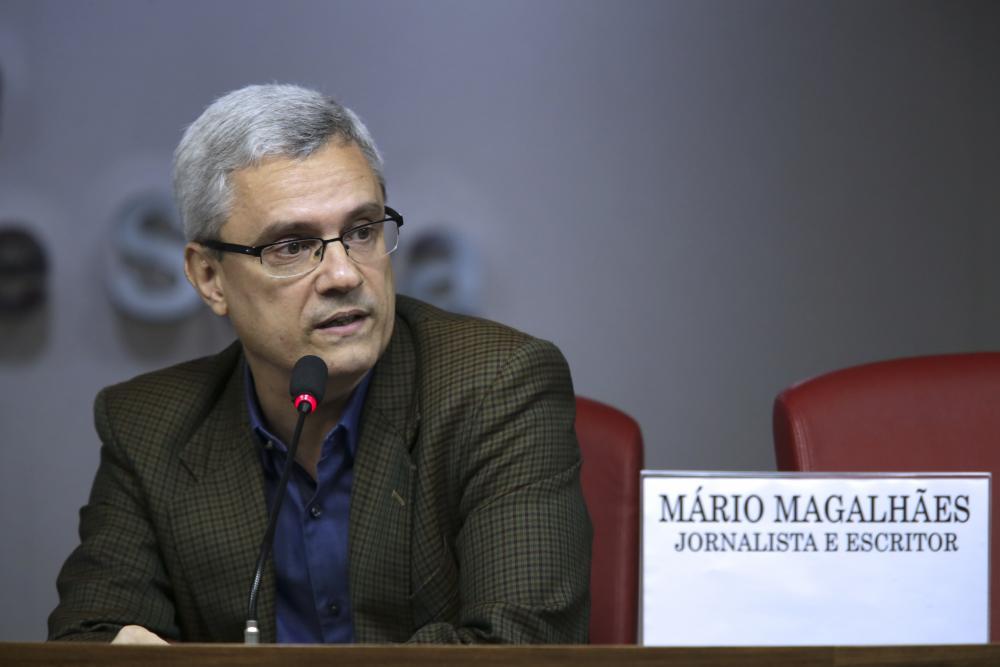 Mário Magalhães / Foto: Luciana Botelho