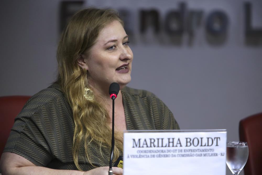 Marilha Boldt / Foto: Luciana Botelho