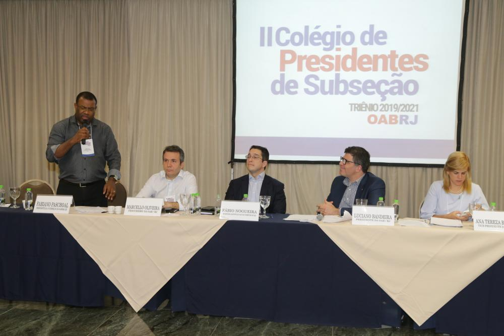 Fabiano Paschoal, Marcello Oliveira, Fábio Nogueira, Luciano Bandeira e Ana Tereza Basílio / Foto: Lula Aparício