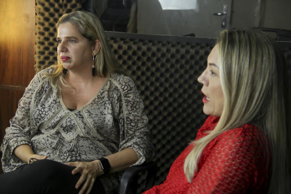 Clarissa Costa e Maria Luciana / Foto: Bruno Marins