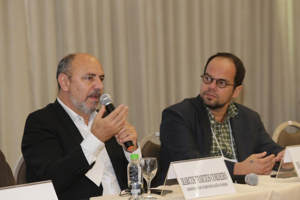 Marcus Vinicius Cordeiro e Marcelo Moutinho / Foto: Lula Aparício