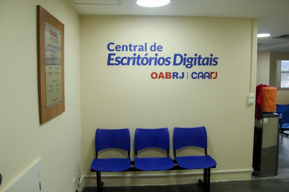 Central de Escritórios Digitais conta com 17 salas individuais / Foto: Bruno Marins