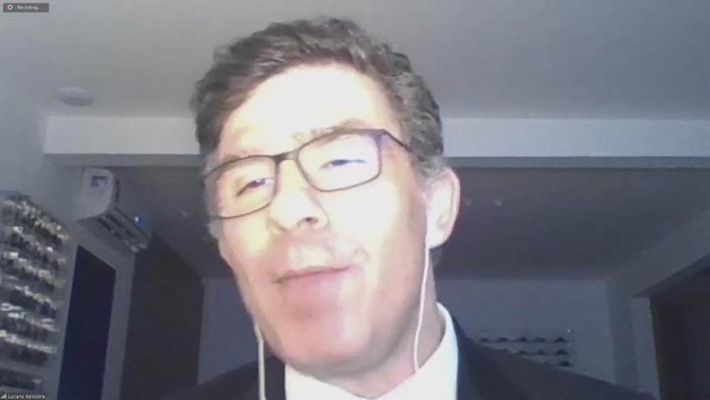O presidente da OABRJ, Luciano Bandeira, abordou no evento as dificuldades da virtualização