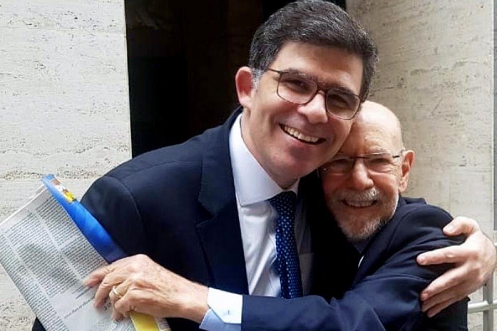 Amigo pessoal do presidente da OABRJ, Luciano Bandeira, Sergio Fisher mantinha com ele um renomado escritório / Foto: Arquivo pessoal