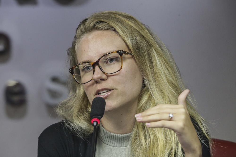 Maria Eduarda Herriot / Foto: Lula Aparício