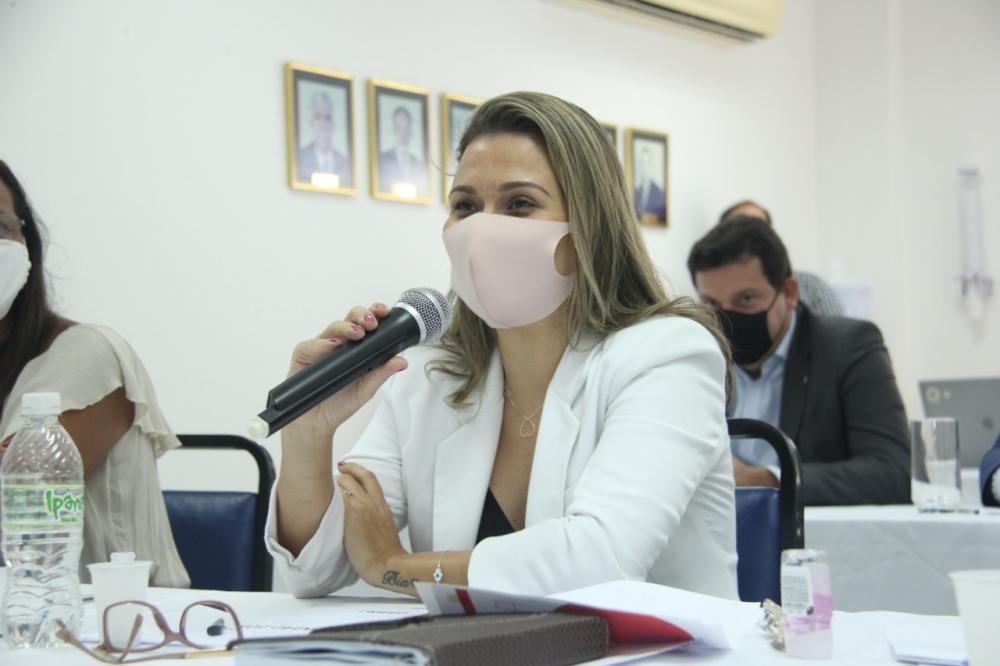 Ana Agleice Destefani, presidente em exercício da Subseção de Macaé / Foto: Bruno Marins
