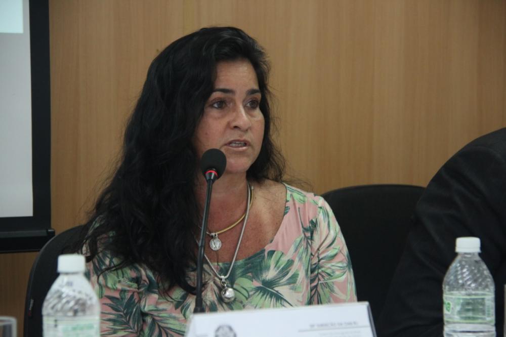 Marisa Gaudio, vice-presidente da Caarj e diretora de Mulheres da OABRJ / Foto: Bruno Marins