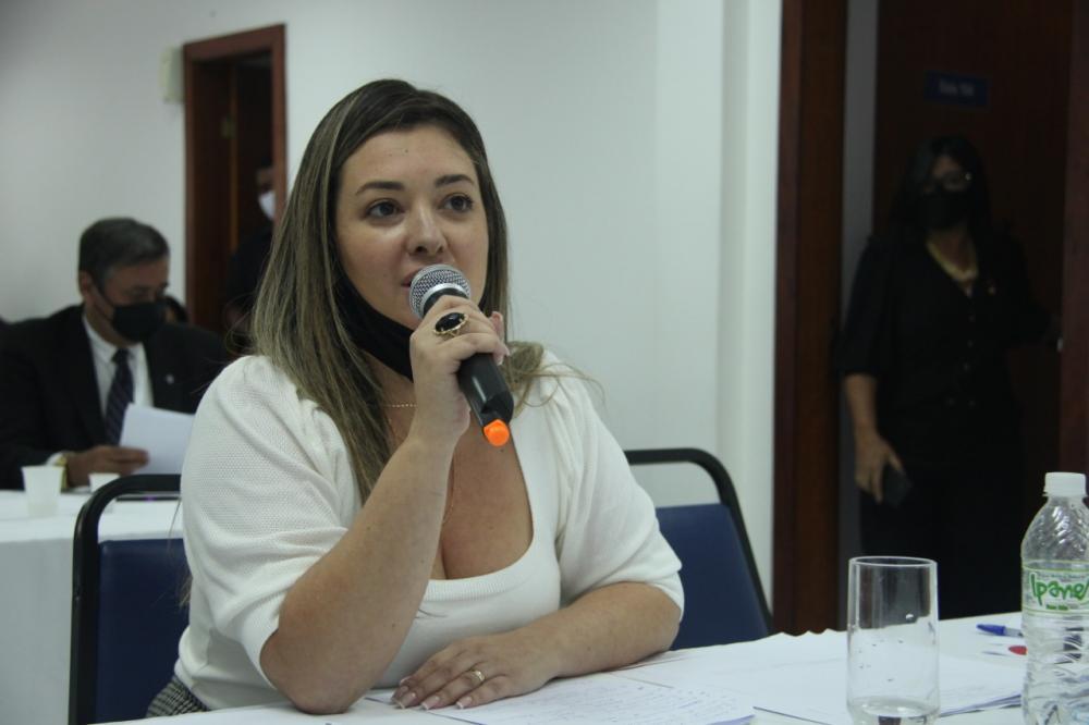 Michele Mansur, presidente da Subseção de Rio das Ostras / Foto: Bruno Marins