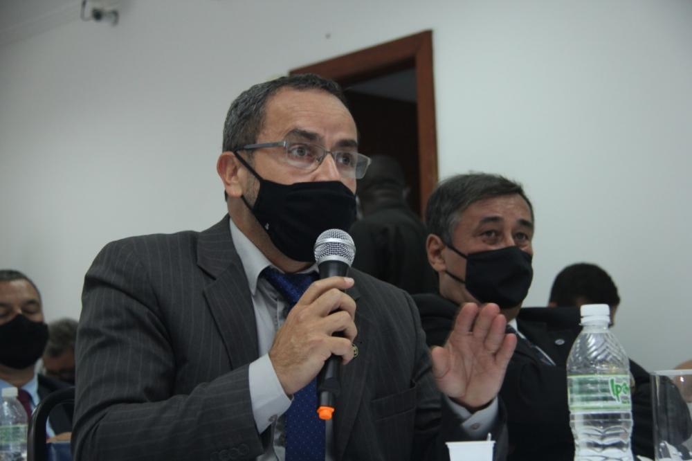Neemias Lima, presidente da Subseção de São Pedro da Aldeia / Foto: Bruno Marins