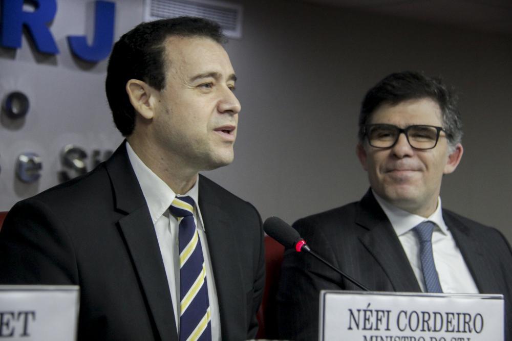 Néfi Cordeiro e Luciano Bandeira / Foto: Bruno Marins