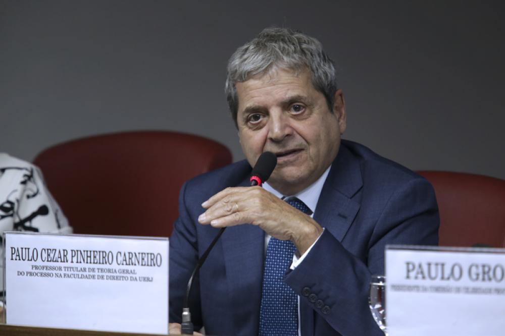Paulo Cezar Pinheiro Carneiro em evento da Comissão de Celeridade Processual / Foto: Luciana Botelho