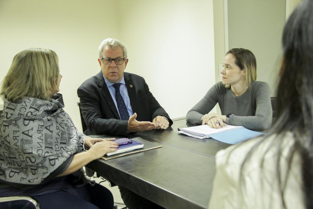 Equipe da Caarj apresentou dados da pesquisa sobre a saúde dos colegas / Foto: Bruno Marins