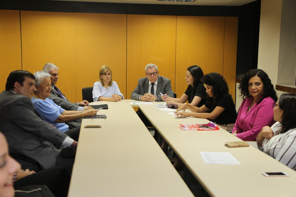 Mentores reuniram-se na sede da OABRJ para ajustar projeto / Foto: Lula Aparício