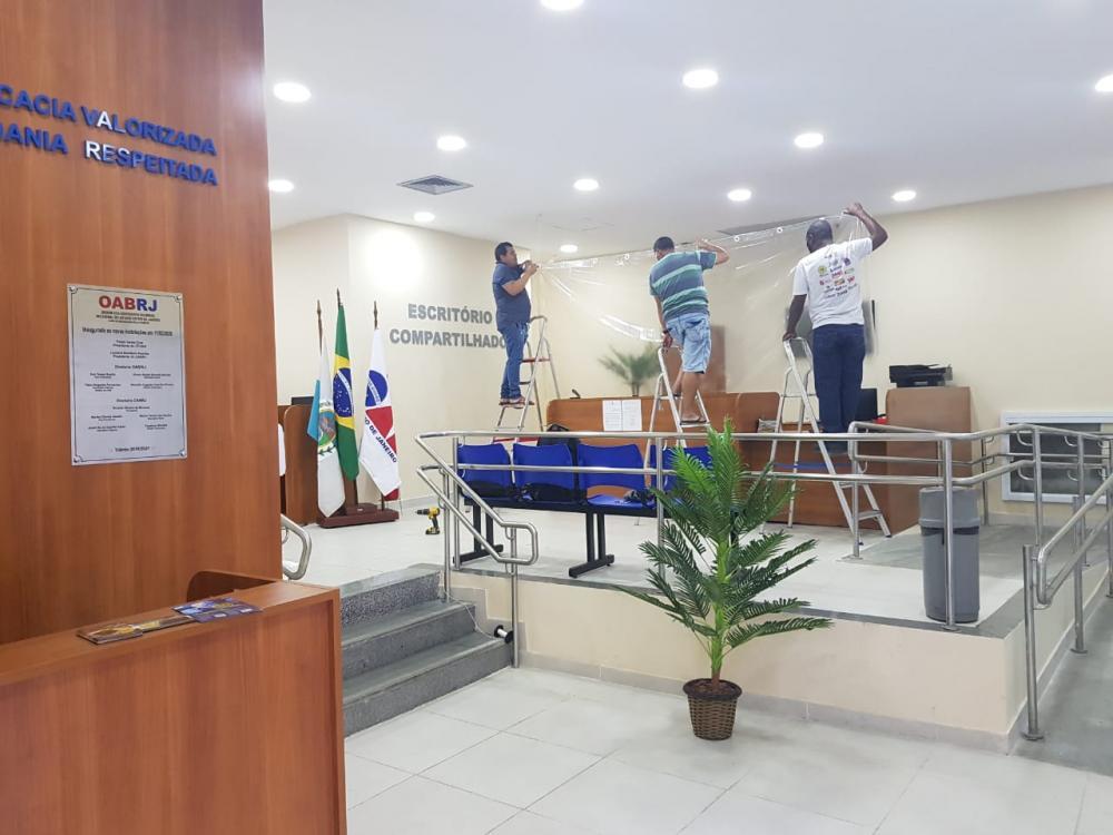 As casas dos advogados Paulo Saboya e Celso Fontenelle adotaram os mesmos protocolos rígidos