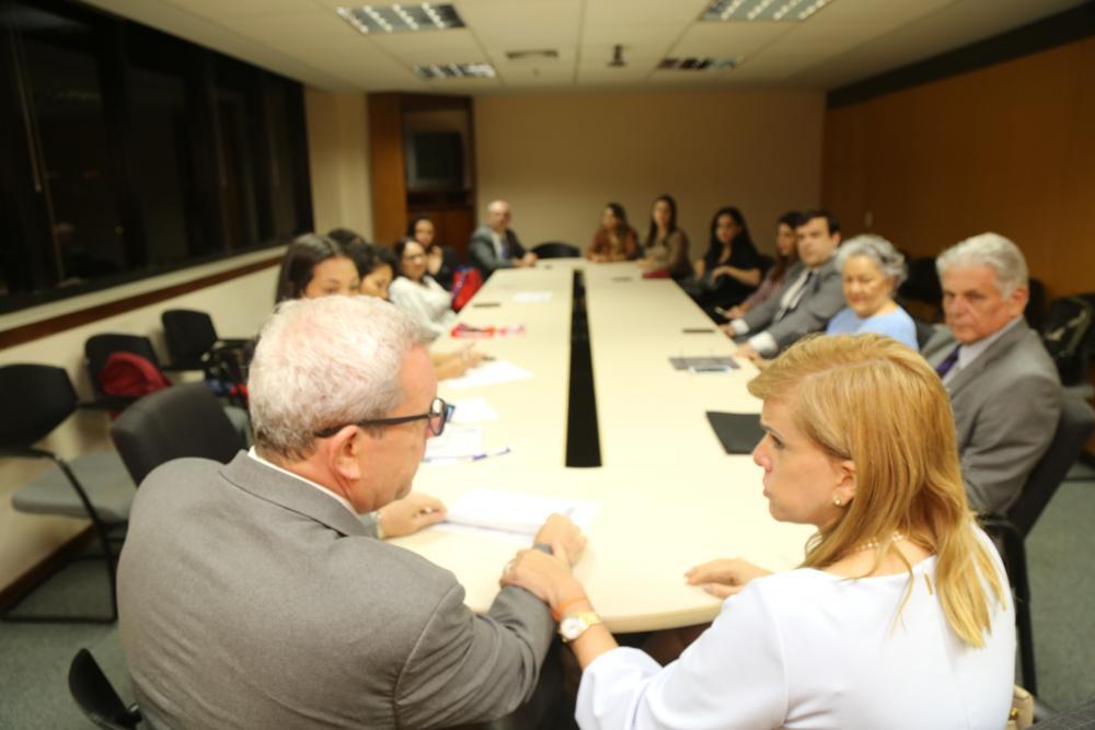 Presidente da Caarj, Ricardo Menezes participou do encontro ao lado da coordenadora do projeto, a vice-presidente da Seccional, Ana Tereza Basílio / Foto: Lula Aparício