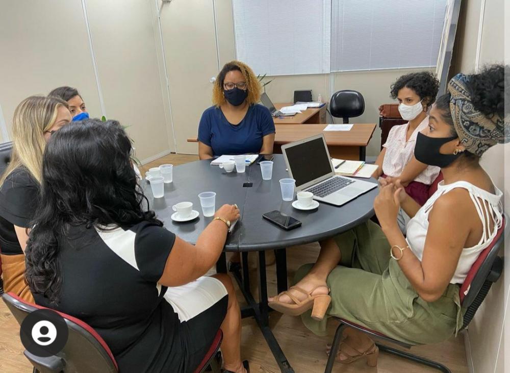 A ideia do encontro foi abrir um canal de parcerias entre a advocacia feminina e a pasta