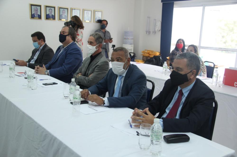 Presidentes das subseções da Região dos Lagos / Foto: Bruno Marins