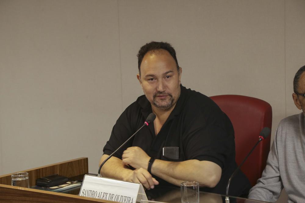 Sandro Alex de Oliveira / Foto: Lula Aparício