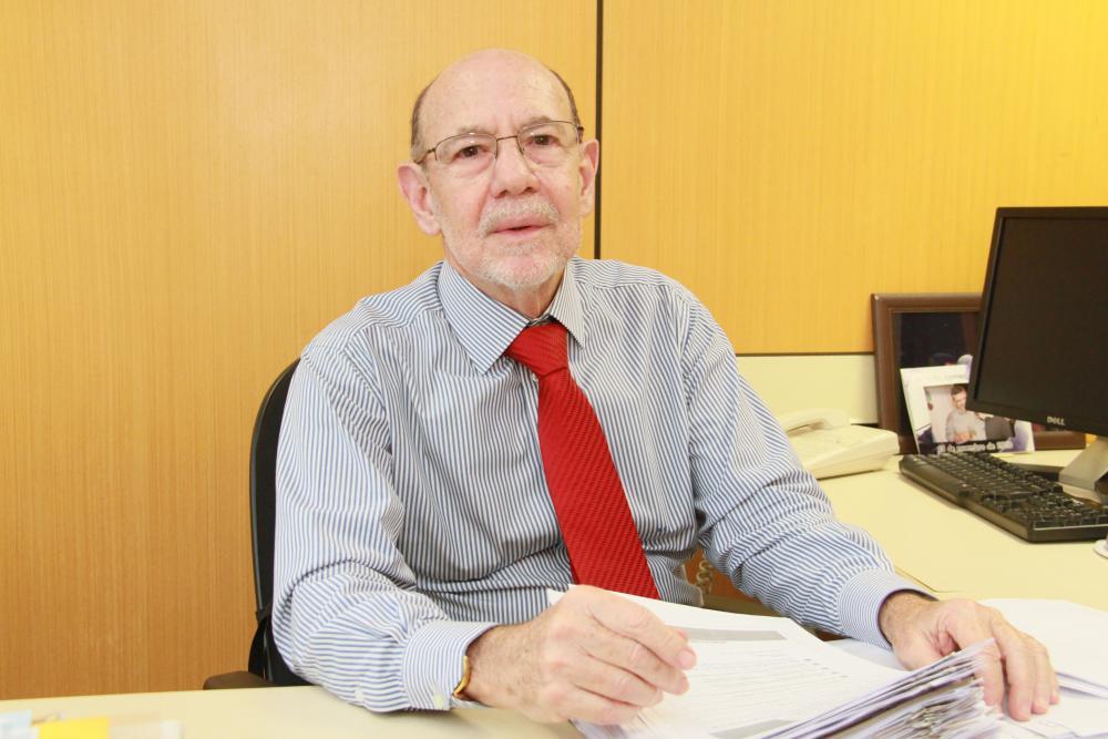 Em 2010, Sergio Fisher assumia a vice-presidente da OABRJ / Foto: Chico Teixeira
