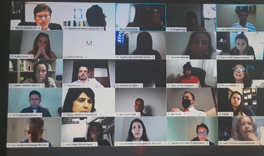 Teste no Cisco Webex reuniu 70 participantes