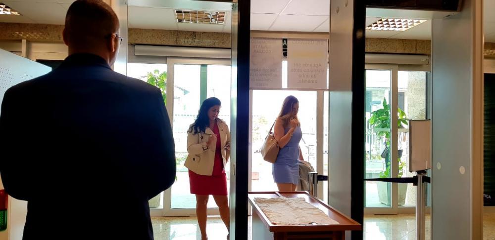 Vice-presidente da OAB Mulher, Rebeca Servaes, foi impedida de entrar no fórum / Foto: Arquivo