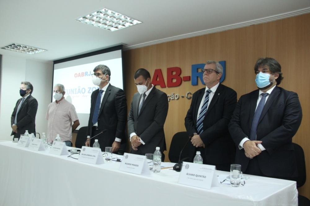 Diretorias da OABRJ e da Caarj / Foto: Bruno Marins